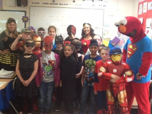 Year 4 Superheroes!